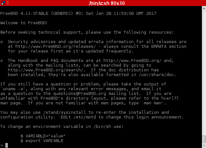 Updating ports freebsd 5 4